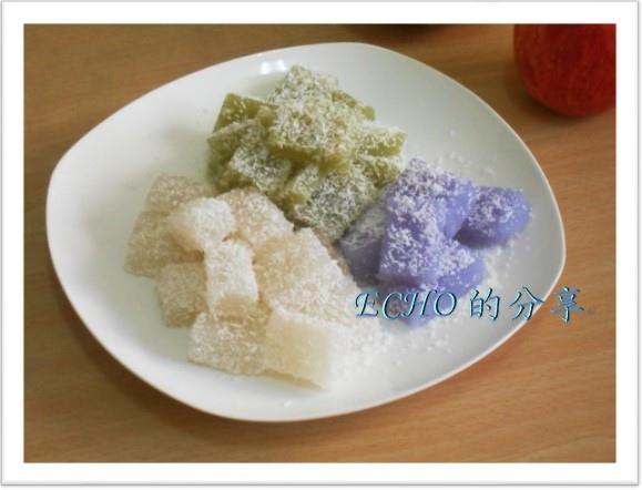 西谷米水晶糕