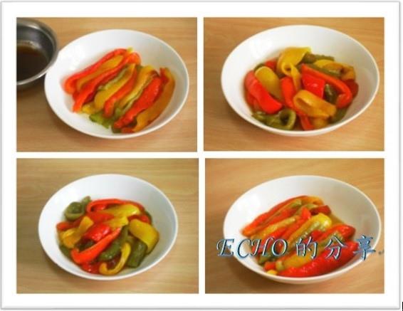涼拌油醋烤甜椒