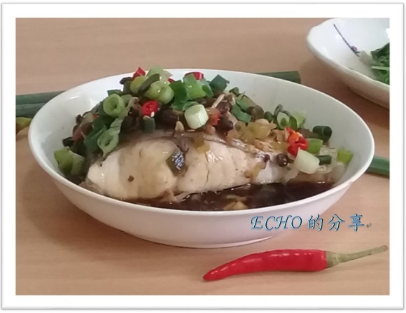 清蒸豆鼓魚