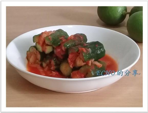 簡易(偷懶)版的小黃瓜泡菜