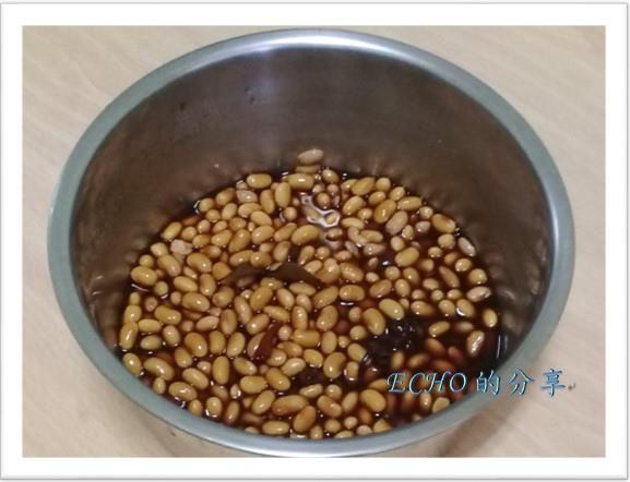 電鍋料理~滷黃豆