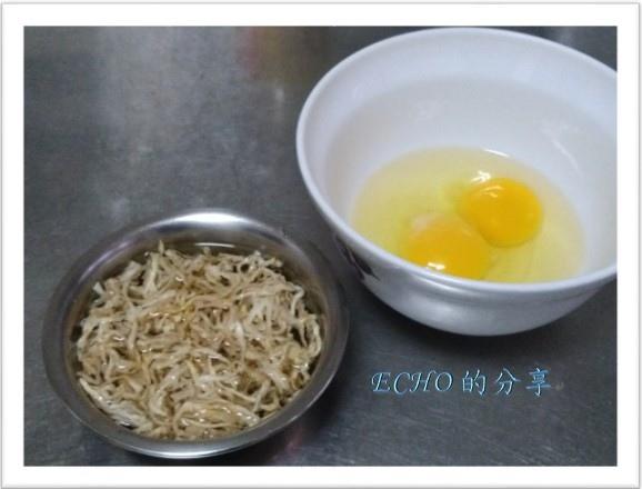 蘿蔔絲乾煎蛋