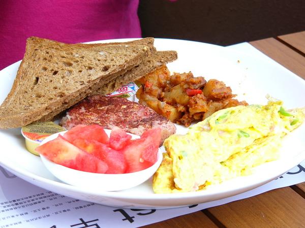 上海新元素餐廳-三明治早餐.JPG
