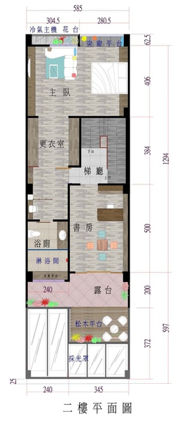 二樓平面圖