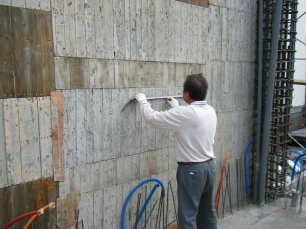 091219二樓牆筋綁紮及水電配管13