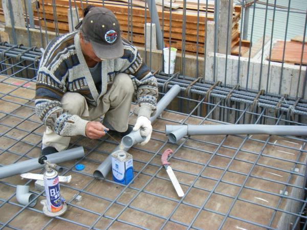091228-二樓頂板鋼筋及水電作業08