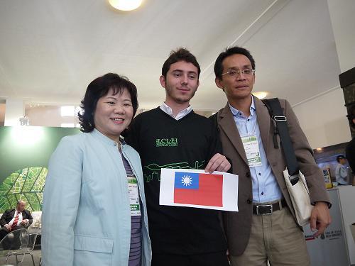 出席巴西2012ICLEI世界大會照片