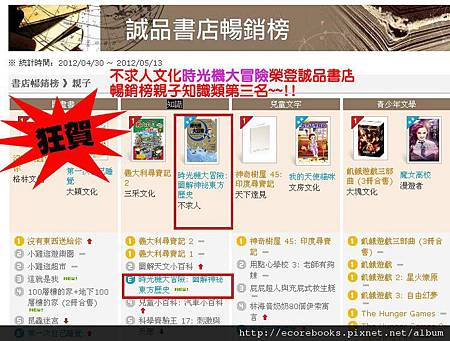 誠品網路書店 - 誠品書店暢銷榜3