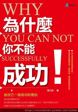為什麼你不能成功-奇盟子-封面
