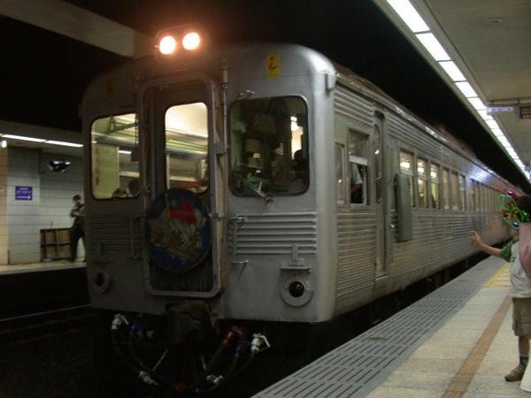 抵達臺北站