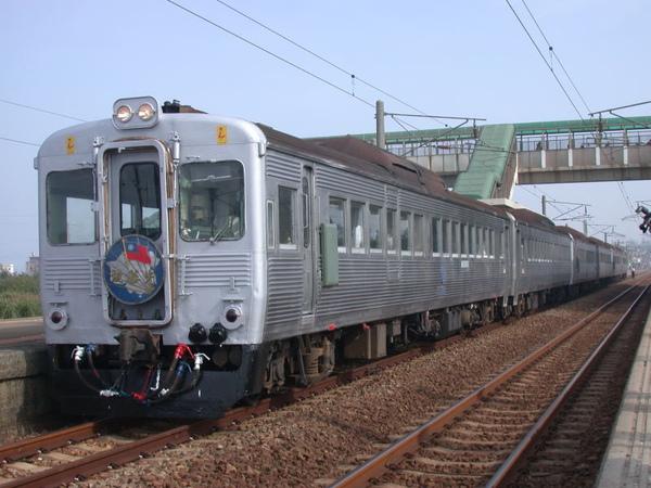 列車抵達白沙屯