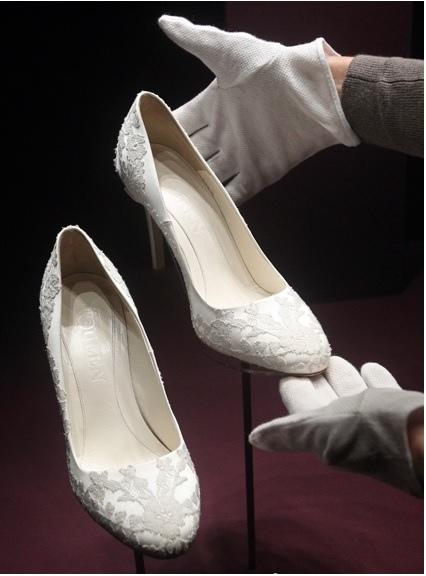 凱特王妃婚鞋.