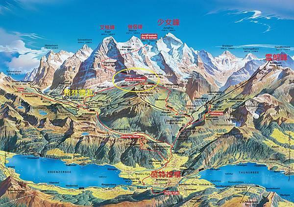 Jungfrau-Grindelwald-region-summer-map