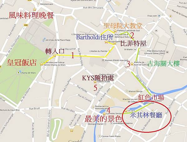 柯瑪位置圖路線圖5