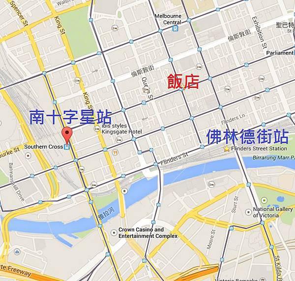 火車與飯店路線圖2