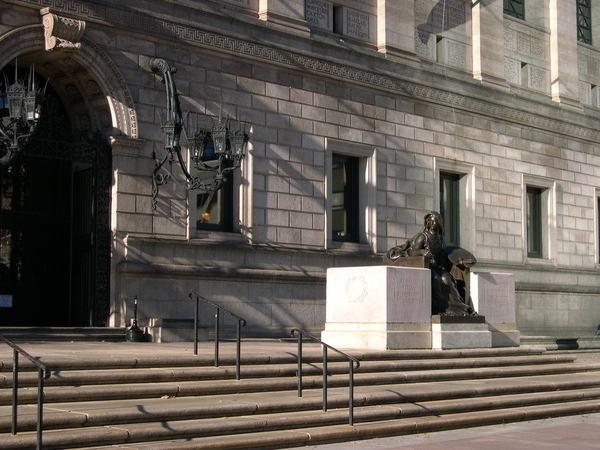波士頓PUBLIC圖書館