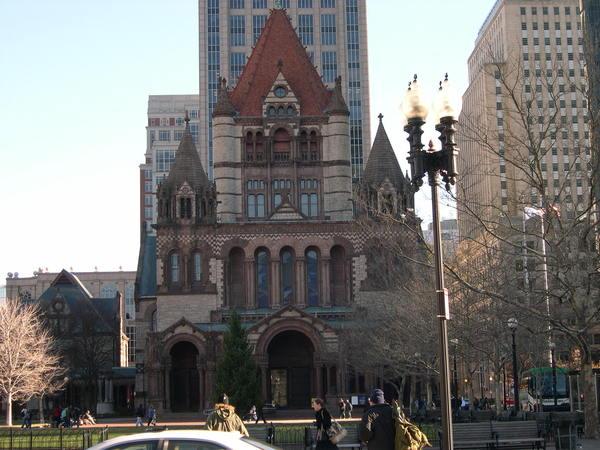 波士頓三一教堂Trinity Church