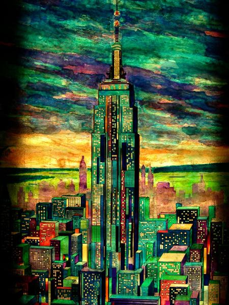 Empire state building_帝國大廈