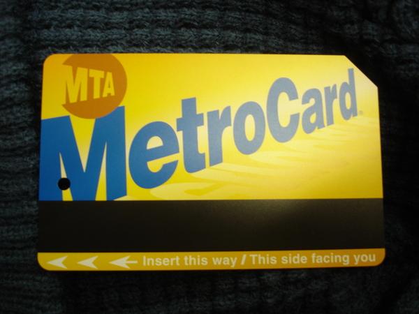 紐約metro card