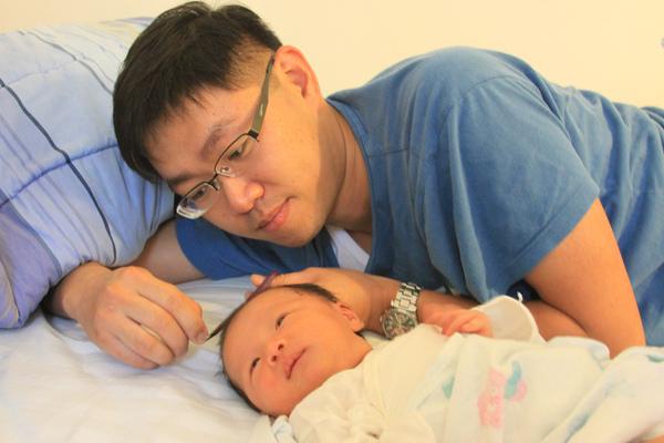 寶寶出生24天