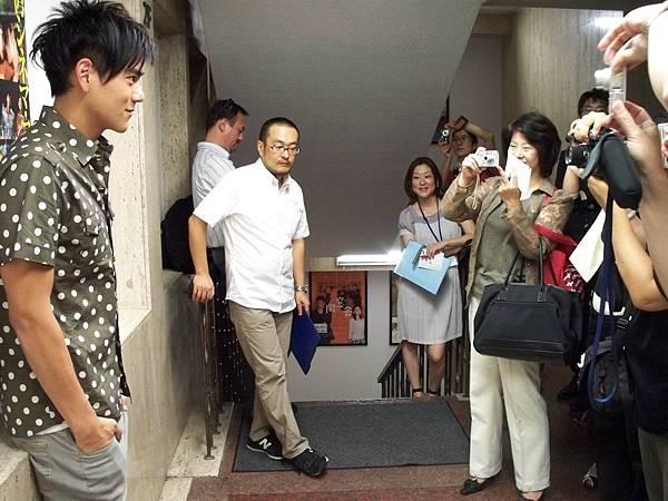 台灣媒體訪問