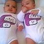 雙胞胎T恤