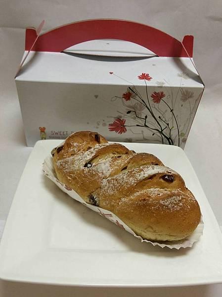 蔓越莓裸麥麵包35元