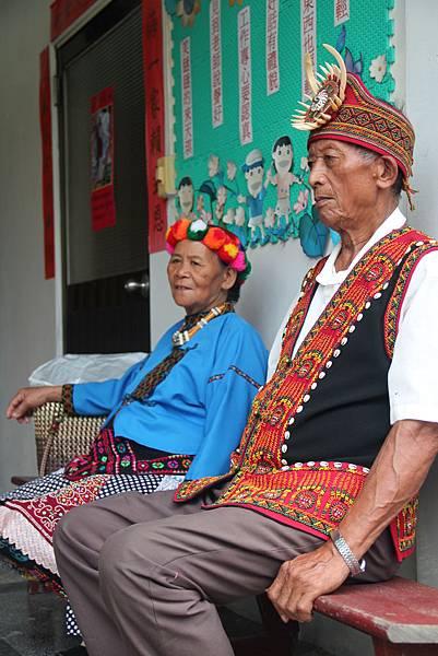 排灣族的長老,是原民文化傳承的要角。