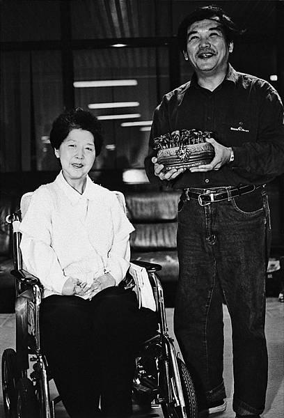 長年為身障者發聲,兩人一起抵抗過無數風雨。