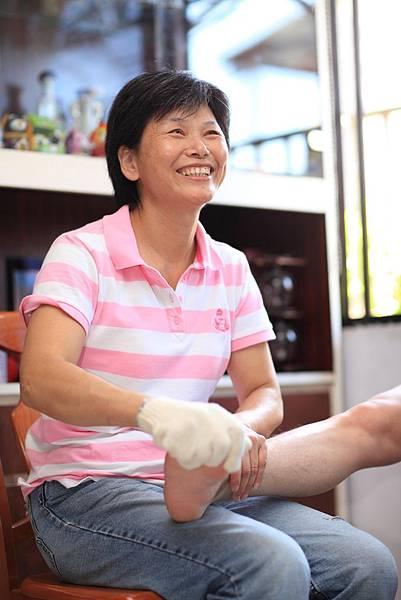 18-陳文玉喜歡居服員這份工作帶來的價值。