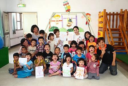 洪曉蕾、Lulu走進偏鄉 陪伴早療兒童