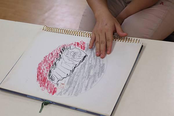 DPP_0189-繪畫治療,幫助學員釋放情緒和壓力。