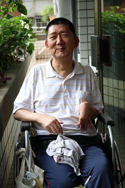 阮聖予─腦性麻痺,伊甸一壽養護中心住民
