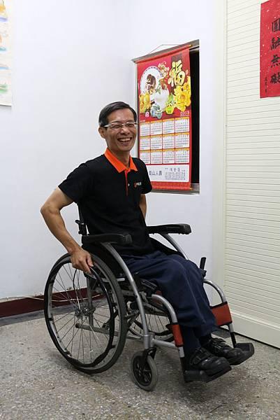 蘇俊源─小兒麻痺,伊甸輪椅舞舞者