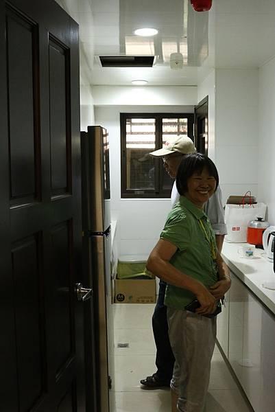 前台南社會局局長曹愛蘭將居家空間做一改造。
