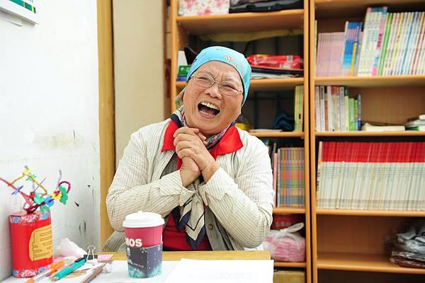 圖說:李惠蘭修女談起孩子都笑彎了雙眼