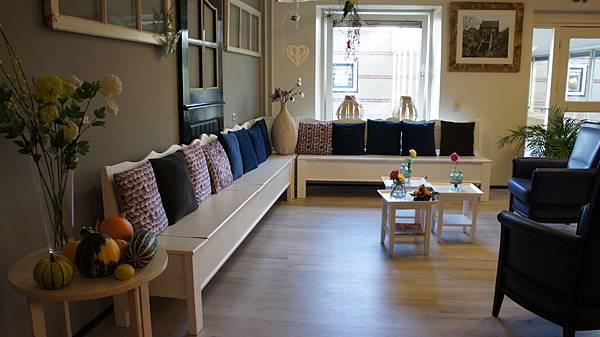 圖說:荷蘭老人公寓擁有像家一樣的溫馨佈置空間。