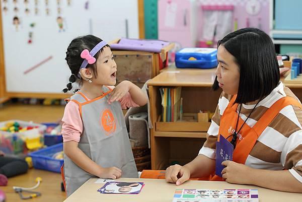 (圖說:小琦已跨上學習軌道,家長、老師對她非常有信心。)