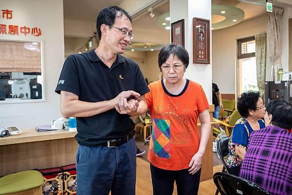 圖說:吳耀綺期許中心能成為一個讓長輩安養、家屬安心的地方。