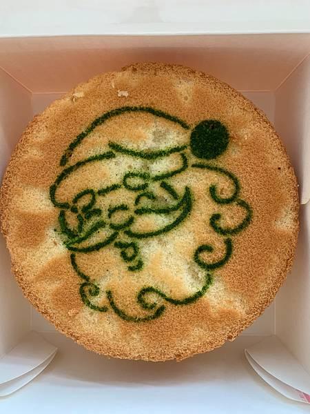 (圖三)愛分享聖誕蛋糕(聖誕老人香草蛋糕)
