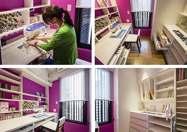 edHOUSE 機能櫥櫃 輕裝修 系統櫃 系統板材 系統家具 權釋設計 書房 收納櫃 活動層板 輕裝修設計 系統櫃設計 室內設計