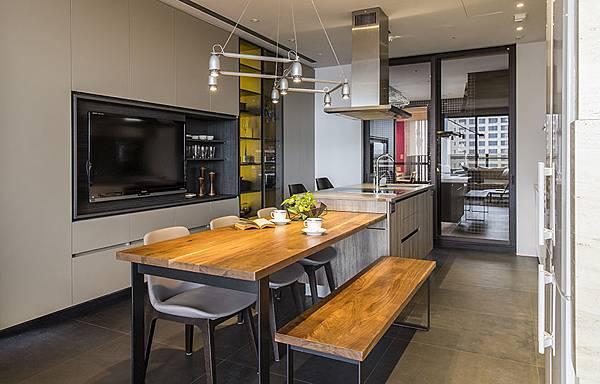 edHOUSE 機能櫥櫃 輕裝修 系統櫃 系統板材 系統家具 權釋設計 廚房 餐廳 收納櫃 活動層板 輕裝修設計 系統櫃設計 室內設計