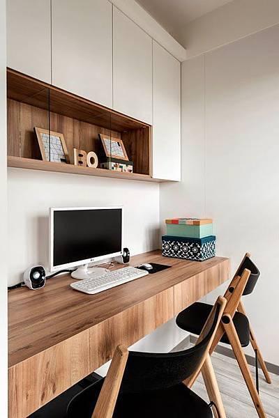 edHOUSE 機能櫥櫃 輕裝修 輕裝修設計 系統櫃 系統板材 裝潢設計 系統家具 客製化 收納 選材重點 環保板材 室內設計 原木色板材 書房