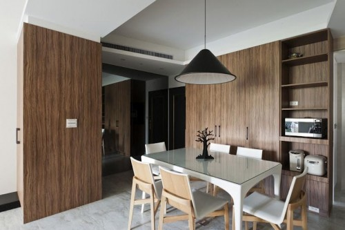 edHOUSE 機能櫥櫃 輕裝修 系統櫃 系統板材 裝潢設計 系統家具 客製化 客廳 收納 輕裝修設計