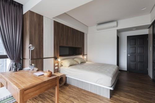 edHOUSE 機能櫥櫃 輕裝修 輕裝修設計 系統櫃 系統板材 裝潢設計 系統家具 客製化 收納 臥房 衣櫃 設計重點 床頭櫃