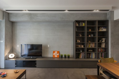 edHOUSE 機能櫥櫃 輕裝修 輕裝修設計 系統櫃 系統板材 裝潢設計 系統家具 客製化 收納 電視矮櫃  系統櫃設計