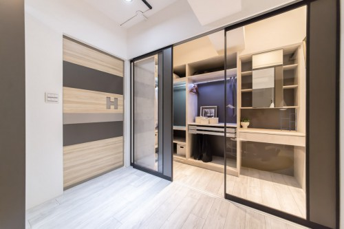edHOUSE 機能櫥櫃 輕裝修 輕裝修設計 系統櫃 系統板材 裝潢設計 系統家具 客製化 收納 高CP  室內設計 臥房 更衣室