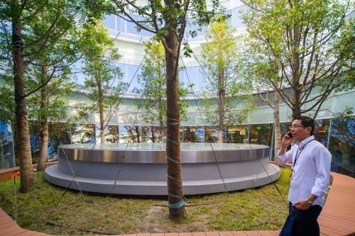 edHOUSE 機能櫥櫃 輕裝修 輕裝修設計 系統櫃 系統板材 裝潢設計 系統家具 客製化 收納 高雄市立圖書館總館 綠建築圖書館 建築設計 科技化 智慧設計  建築美學 室內設計  景觀中庭