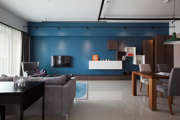 edHOUSE 機能櫥櫃 輕裝修 輕裝修設計 系統櫃 系統板材 裝潢設計 系統家具 客製化 客廳  現代簡約 北歐 室內設計