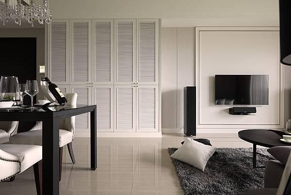 edHOUSE 機能櫥櫃 輕裝修 輕裝修設計 系統櫃 系統板材 裝潢設計 系統家具 客製化 客廳  北歐  低調奢華 室內設計